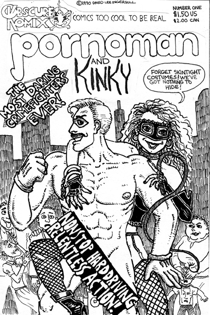 Pornoman and Kinky #1