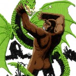 Reptilicus vs The Mighty Peking Man