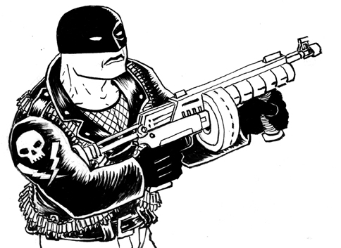 Midnight Commando inked