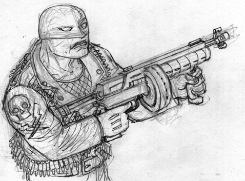 Midnight Commando Sketch