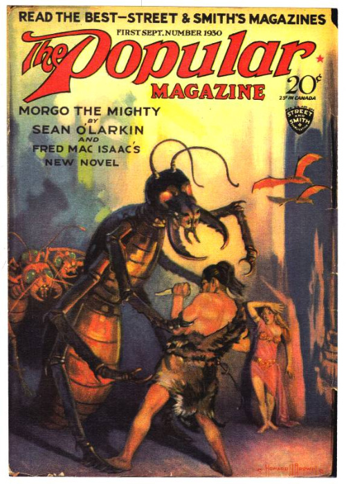 Popular Magazine Cover: Morgo vs the Gi-Ants