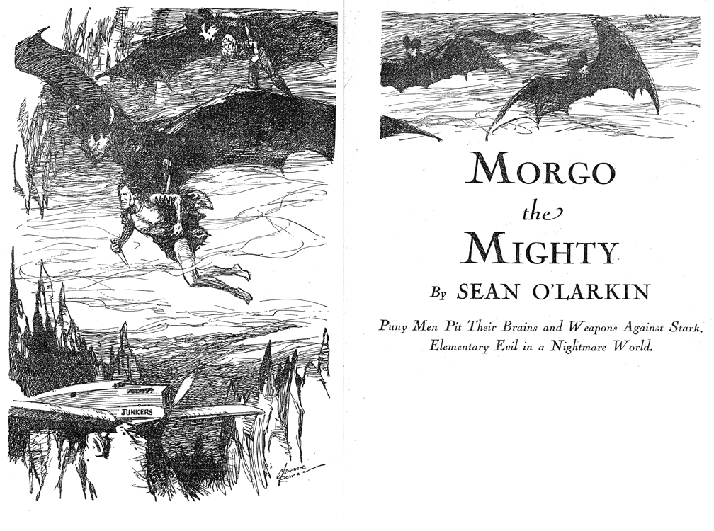 Morgo Interior Illustration 1 by Charles Rowe