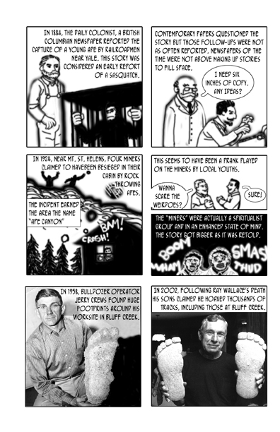 Whatever Happened to Bigfoot, page 4