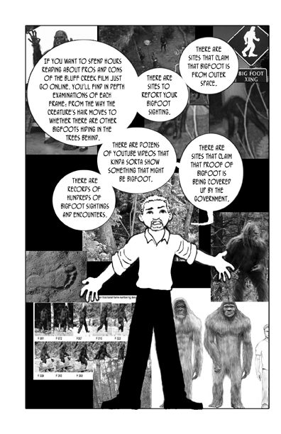 Whatever Happened to Bigfoot, page 6