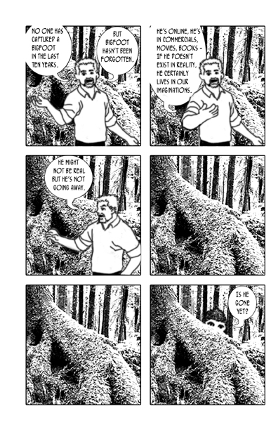Whatever Happened to Bigfoot, page 8