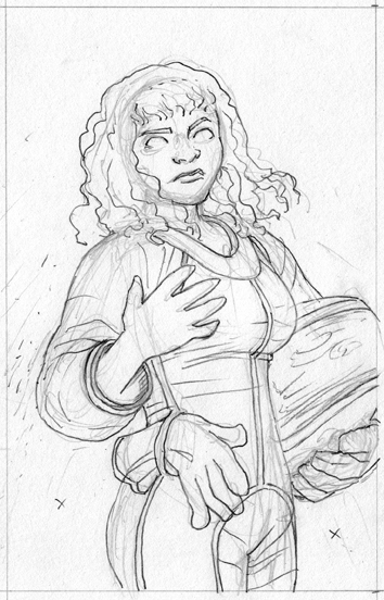 Pencils, Character Portrait #3