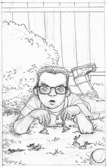 Pencils, Character Portrait #6