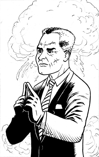 Inks, Character Portrait #10